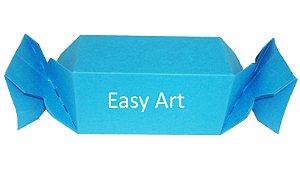 Caixa Bala - Azul Turquesa