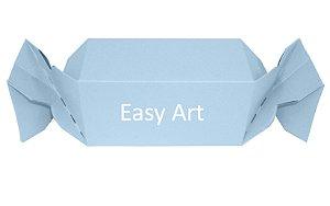 Caixa Bala - Azul Claro