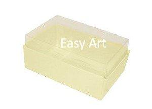 Caixas para 06 Mini Doces - Marfim