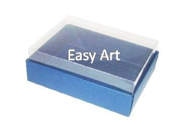Caixas para 12 Mini Doces / Azul Marinho