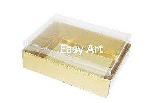 Caixas para 12 Mini Doces - Dourado Brilhante