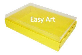 Caixas para 24 Mini Doces - Amarelo