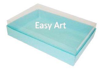 Caixas para 24 Mini Doces / Azul Tiffany