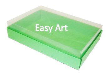 Caixas para 24 Mini Doces / Verde Pistache