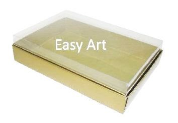 Caixas para 24 Mini Doces / Dourado