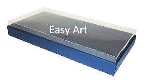 Caixas para 50 Mini Doces - Azul Marinho