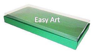Caixas para 50 Mini Doces - Verde Bandeira