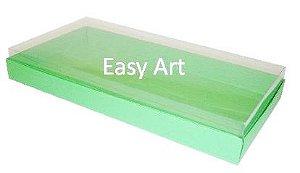 Caixas para 50 Mini Doces / Verde Pistache