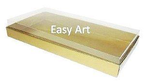 Caixas para 50 Mini Doces / Dourado