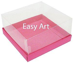Caixas para Coração Lapidado / Mini Bolo - Pink
