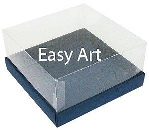 Caixas para Coração Lapidado / Mini Bolo - Azul Marinho