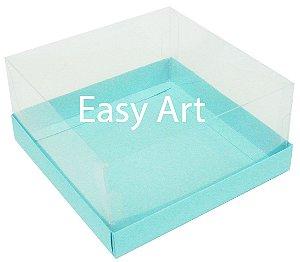 Caixas para Coração Lapidado / Mini Bolo - Azul Tiffany