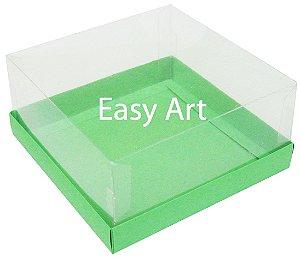 Caixas para Coração Lapidado / Mini Bolo - Verde Pistache