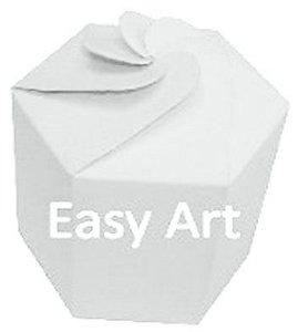 Caixa Flor para Presentes - Branco