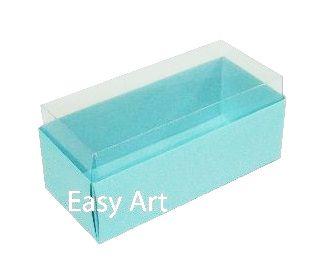 Caixas para 4 Macarons ou 2 Brigadeiros - Azul Tiffany