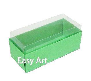 Caixas para 4 Macarons ou 2 Brigadeiros - Verde Pistache