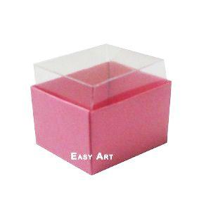 Caixas para Dois Macarons - Rosa Claro