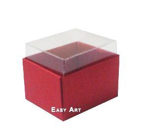 Caixas para Dois Macarons - Vermelho