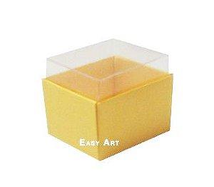 Caixas para Dois Macarons - Amarelo