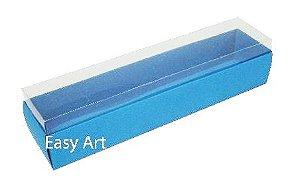Caixas para 10 Macarons - Azul Turquesa