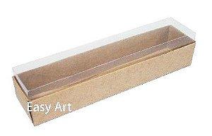 Caixas para 10 Macarons 21x4,5x4,5 - Pct com 10 Unidades
