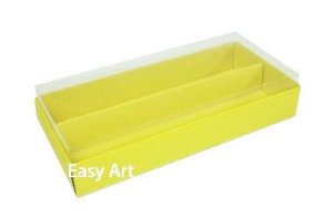 Caixas para Macarons - Amarelo