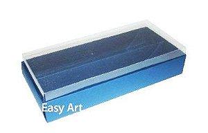 Caixas para Macarons - Azul Marinho