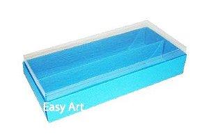 Caixas para Macarons - Azul Turquesa