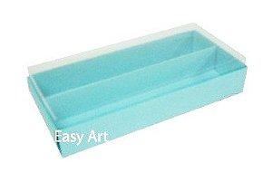 Caixas para Macarons - Azul Tiffany