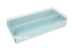 Caixas para Macarons - Azul Claro