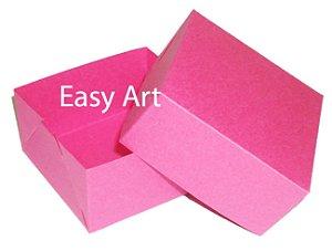 Caixa para 4 Brigadeiros - Pink