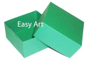 Caixa para 4 Brigadeiros - Verde Bandeira