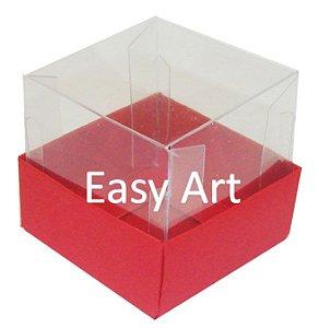 Caixa para Mini Bolos - Vermelho