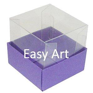 Caixa para Mini Bolos - Lilás