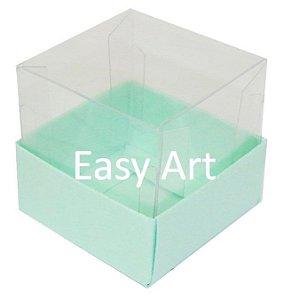 Caixa para Mini Bolos - Verde Claro