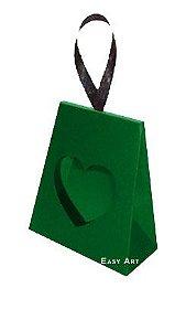 Caixinha Coração - Verde Bandeira