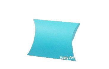 Caixa Almofada - Azul Tiffany