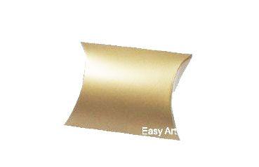 Caixa Almofada - Dourado