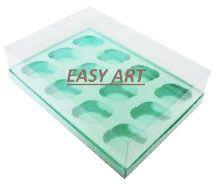 Caixas para 12 Mini Cupcakes 23,5x16,8x8 - Pct com 10 Unidades