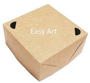 Caixa para Lanches 20x20x6 - Kraft