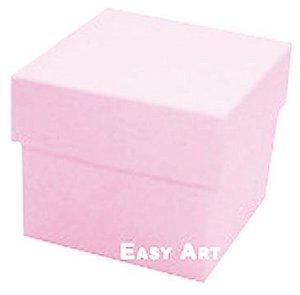 Caixa Tiffany Pequena - Rosa Claro