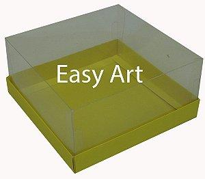 Caixinhas para Mini Bolos / Amarelo - 12x12x6