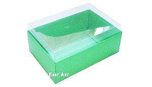 Caixa para 6 Brigadeiros - Verde Pistache