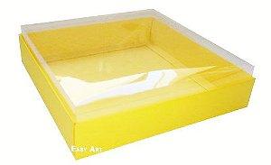 Caixa para 16 Brigadeiros - Amarelo