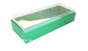 Caixa para 10 Brigadeiros - Verde Bandeira
