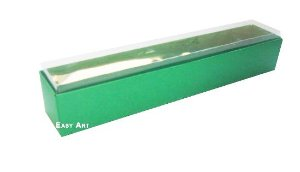 Caixas para 6 Brigadeiros - Verde Bandeira