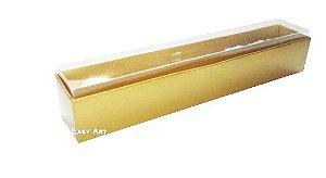 Caixas para 6 Brigadeiros - Dourado Brilhante