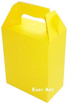 Caixa Maleta - Amarelo