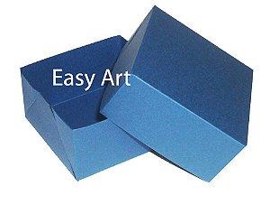 Caixa para 4 Brigadeiros - Azul Marinho