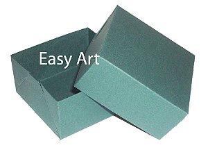 Caixa para 4 Brigadeiros - Verde Musgo